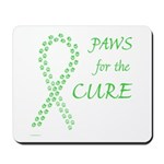 Lime Paws Cure Mousepad