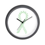 Lime Paws Cure Wall Clock