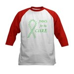 Lime Paws Cure Kids Baseball Jersey