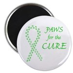 Lime Paws Cure Magnet