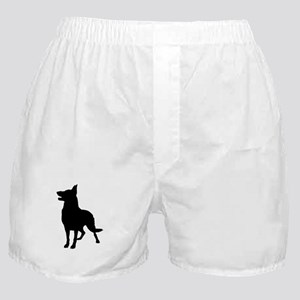 German Shepherd Silhouette Boxer Shorts
