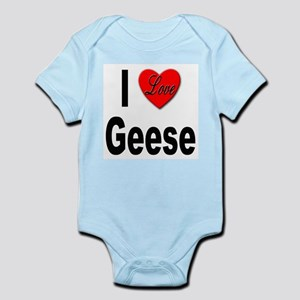 I Love Geese Infant Creeper