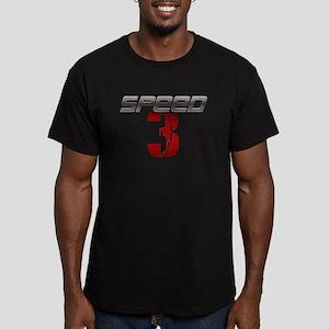 SPEED 3 Men's Fitted T-Shirt (dark)