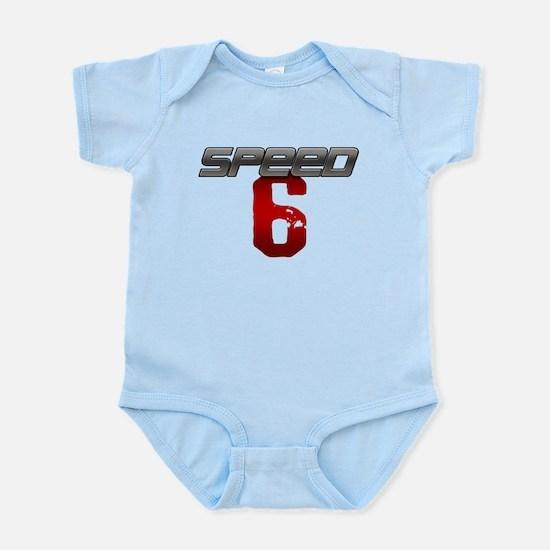 SPEED 6 Infant Bodysuit