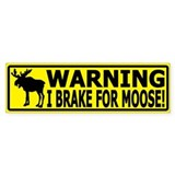 Brake for moose Single
