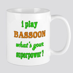 I play Bassoon what's your super 11 oz Ceramic Mug