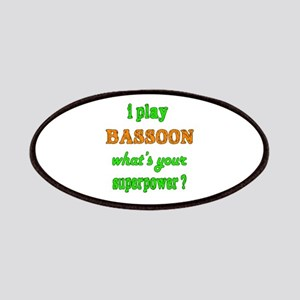 I play Bassoon what's your superpower ? Patch
