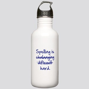 Spelling Is Hard Stainless Water Bottle 1.0L