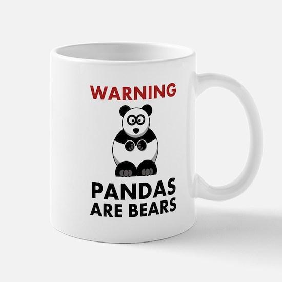 Warning Pandas Are Bears! Mug