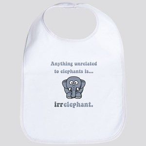 Irrelephant Bib