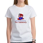 No Amnesty Hat Mouse Women's T-Shirt