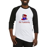 No Amnesty Hat Mouse Baseball Jersey
