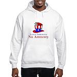No Amnesty Hat Mouse Hooded Sweatshirt