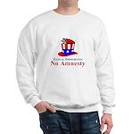 No Amnesty Hat Mouse Sweatshirt