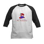 No Amnesty Hat Mouse Kids Baseball Jersey