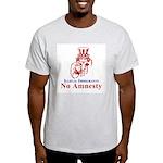 No Amnesty Red Uncle Ash Grey T-Shirt