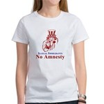 No Amnesty Red Uncle Women's T-Shirt