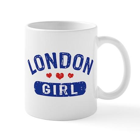 London Girl Mug