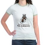 No Amnesty Uncle Jr. Ringer T-Shirt