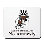 No Amnesty Uncle Mousepad