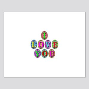 I Love You Eggs (TM) Small Poster