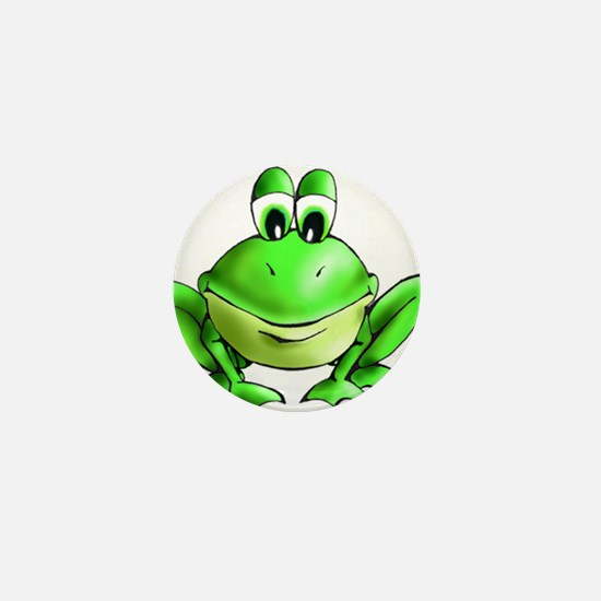 Cute Cartoon frog Mini Button