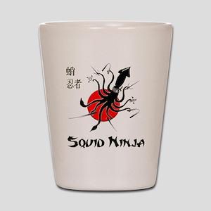 Squid Ninja Shot Glass