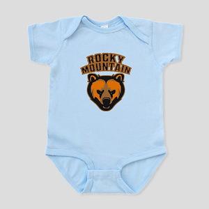 Rocky Mountain Bear Face Infant Bodysuit