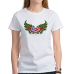 Texas Heart with Wings Women's T-Shirt