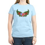 Texas Heart with Wings Women's Light T-Shirt