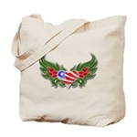 Texas Heart with Wings Tote Bag