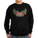 Texas Heart with Wings Sweatshirt (dark)