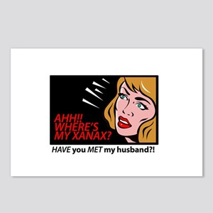 AHH! I need a xanax Postcards (Package of 8)