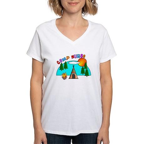 Camp Nurse Women's V-Neck T-Shirt