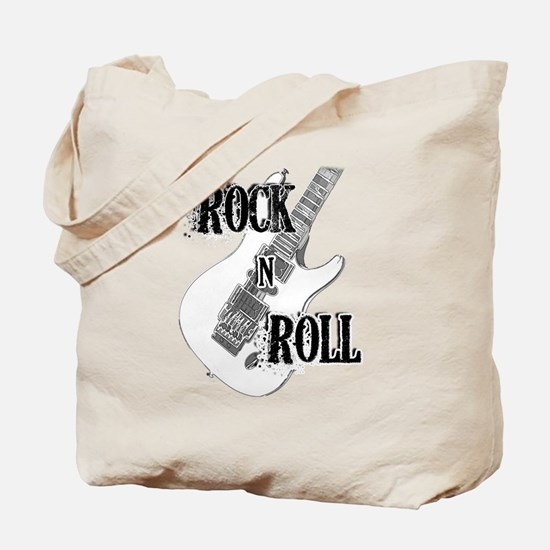 Unique Rock and roll Tote Bag