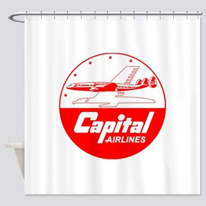 Capital Airlines Constellation Shower Curtain