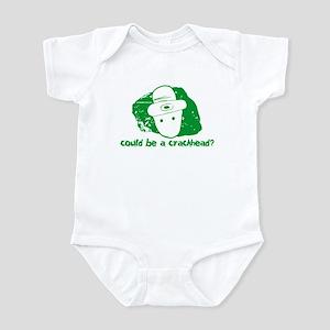 Could be a crackhead? Infant Creeper