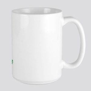 Could be a crackhead? Large Mug