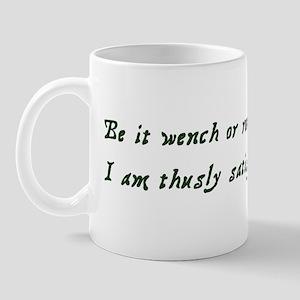 Rogue or Wench Mug