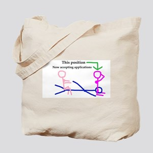 apply within Tote Bag