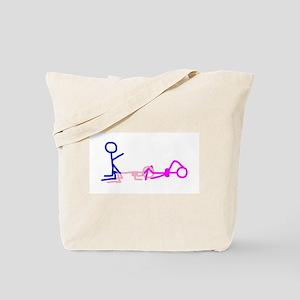 Stick figure 1 Tote Bag