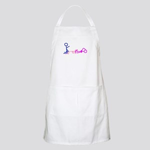Stick figure 1 BBQ Apron