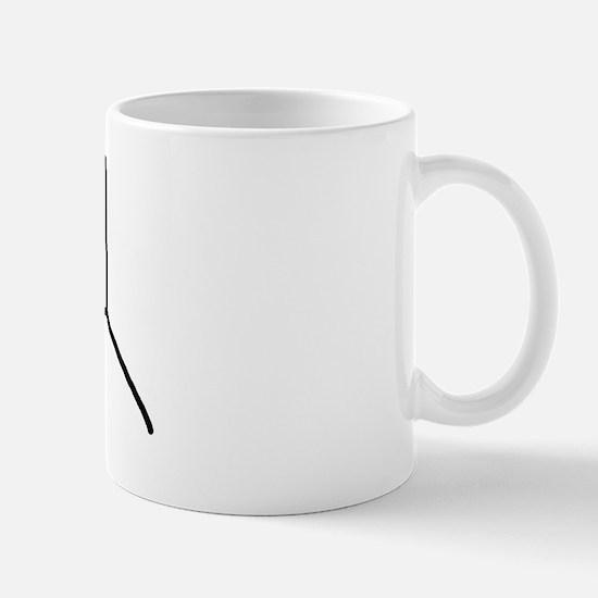 Stick figure 9 Mug