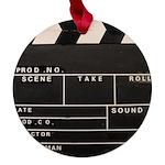 Movie Film video clapperboard design Maple Round O