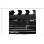 Movie Film video clapperboard design Poster Art