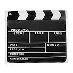 Movie Film video clapperboard design Arctic Fleece