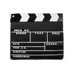 Movie Film video clapperboard design Plush Fleece