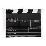 Movie Film video clapperboard design Pillow Case