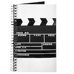 Movie Film video clapperboard design Journal