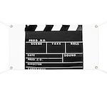 Movie Film video clapperboard design Banner